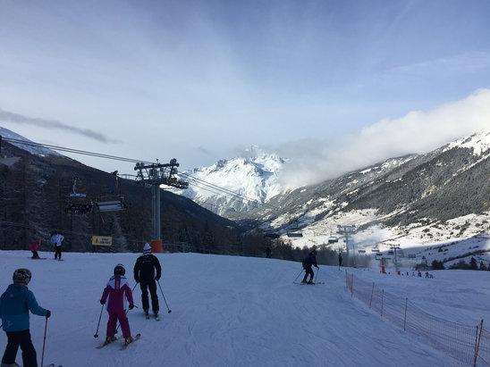 Val Cenis Vanoise - Neve fresca e ben battuta!!  - ©iPhonePaolo
