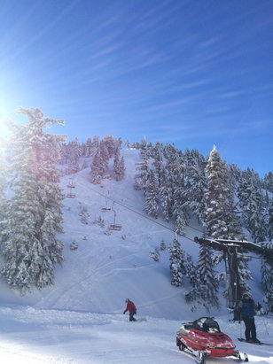 Mt. Baldy - Firsthand Ski Report - ©Owner's iPhone