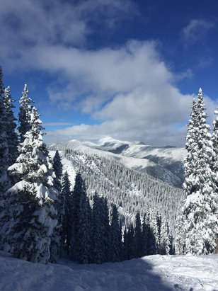 Taos Ski Valley - Highline ridge. 2 feet of fresh. Amazing!!  - ©Wilson Scanlan's iPhone