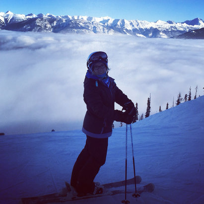 Kicking Horse - Skied over the New Year, beautiful resort, everywhere needs about a foot but still lots of vert and a rad hill to play on❄️⛷ - ©Bobbi-Jos iPhone
