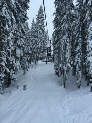 Boreal Mountain Resort - Firsthand Ski Report - ©iPhone