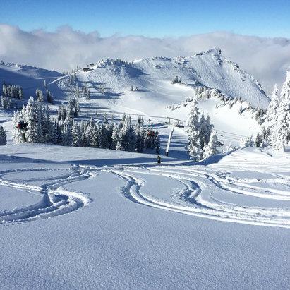 Alta Ski Area - Firsthand Ski Report - ©Matt Smith's iPhone
