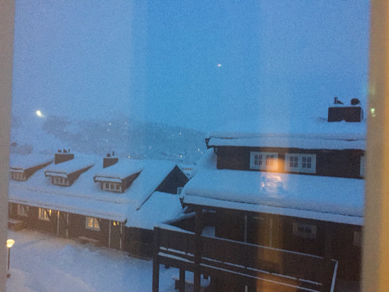 Geilo - Plenty of snow - ©jog's iPhone