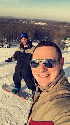 Bittersweet Ski Area - Beautiful day. 29$ ticket  - ©Dad I Phone6