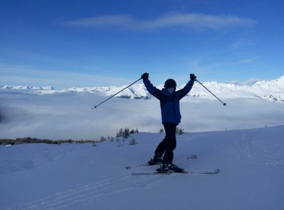 Les Arcs - great snow !! great weather ! - ©elidahanaustin