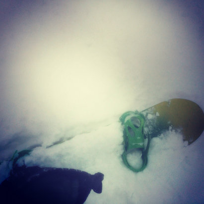 Mountain Creek Resort - Yesterday's conditions were amazing. Drifts of two feet of powder. - ©jess's iPhone