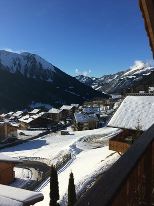 Chatel - Lovely place to ski!   - ©iPhone Esther