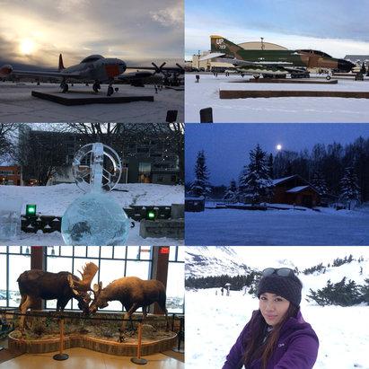 Alyeska Resort - Firsthand Ski Report - ©Ma lourdes's iPhone