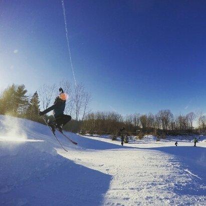 Bittersweet Ski Area - the new jumps where great - ©masonluce58