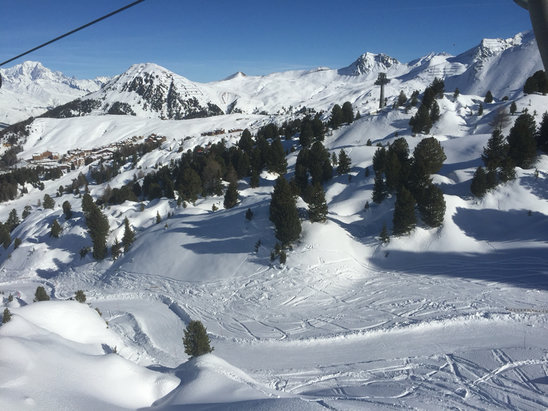 Peisey Vallandry - Great conditions, wrapped up a little to warm for the temperature. Another snow fall would be fantastic   - ©Luke