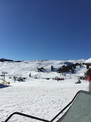 Les Saisies - Firsthand Ski Report - ©iPhone de Valentina