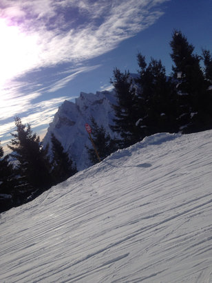 La Clusaz - Awesome day  - ©Dionne Baker's iPhone