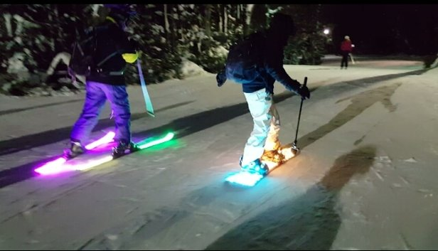 Holiday Valley - fantastic skiing all weekend. Especially the night skiing! - ©night skiing at Holiday