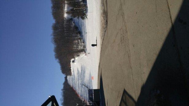 Wachusett Mountain Ski Area - great day Monday great conditions, considering the lack of mass snow. - ©rporawski70