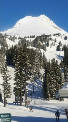 Mt. Hood Meadows - Perfect Monday!  - ©stenderfamily