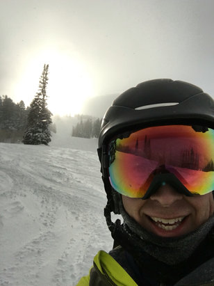 Solitude Mountain Resort - Great powder and no people!  - ©Eric's iPhone