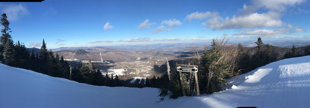 Jay Peak - Great day at Jay.  The groomers did a terrific job what with they had to work with. - ©Matts iPhone