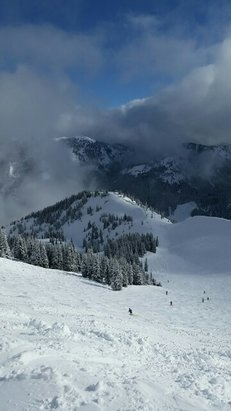 Crystal Mountain - was here on Saturday and the conditions were awesome. Always a good ride. - ©doublepinsea