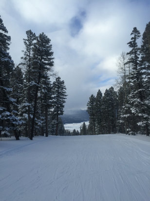 Angel Fire Resort - Bodacious, Great run to finish a fantastic day. Perfect snow conditions.  - ©Bobby Manjarrez iPhone