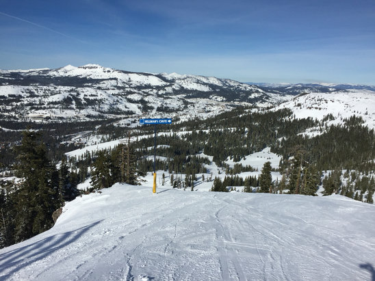 Sugar Bowl Resort - Nice day, plenty of snow, no lines and not too cold.  - ©Owner's iPhone (2)