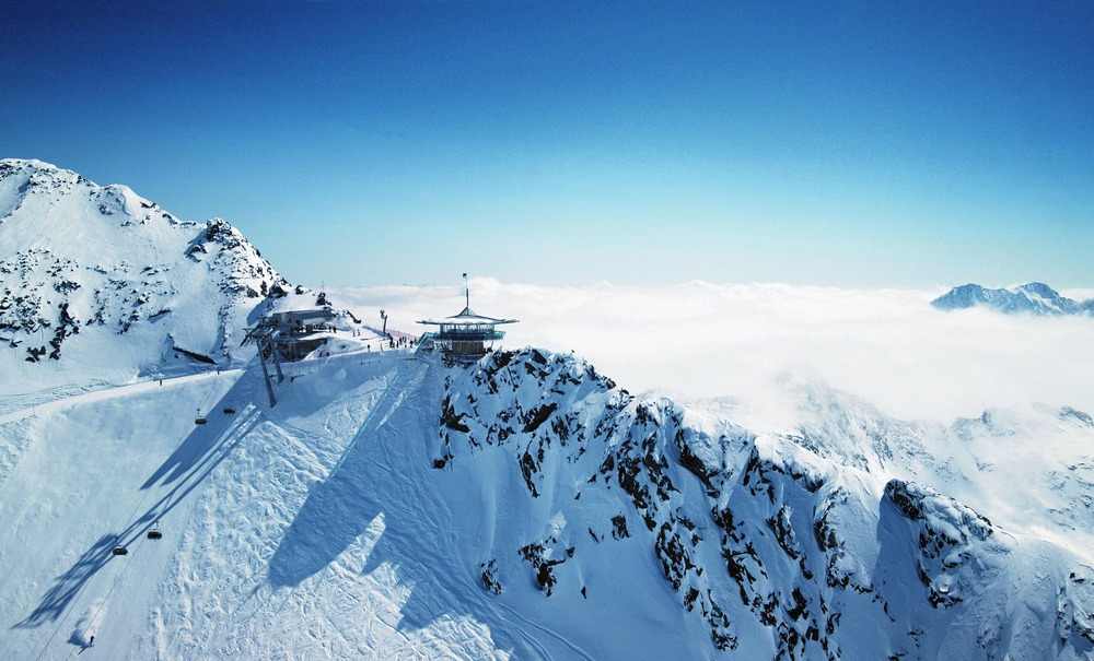 Summit area of Obergurgl-Hochgurgl. Copyright: Ötztal Tourismus.