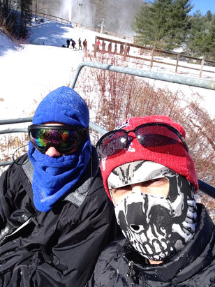 Cataloochee Ski Area - Headed up to ohmygosh - ©Zac and Carson