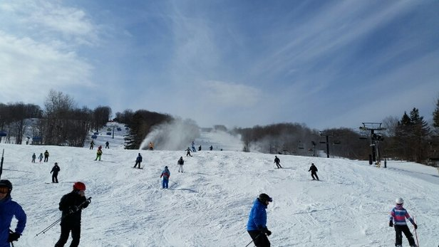 Mount Snow - Lots of lifts, lots of trails.  Great day at Mount snow - ©cwradler