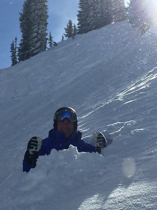 Alta Ski Area - Plenty of pow pow stashes just have to venture. - ©Rob Skudder iphone