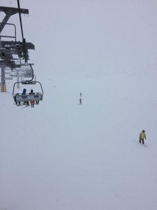 Piani di Bobbio e  Valtorta - Neve fresca, oggi per lo snowboard è top. Sta nevicando da stamattina   - ©Kana