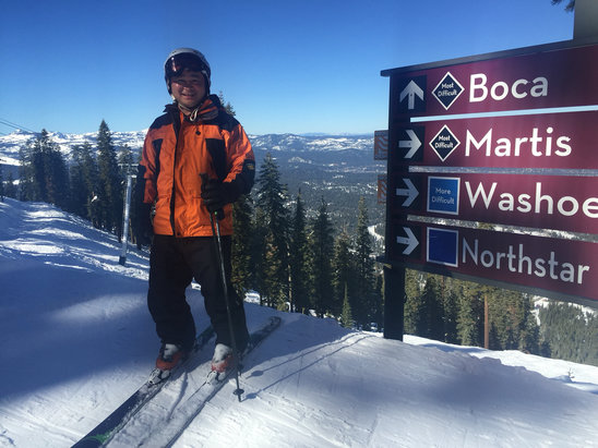 Northstar California - Boca was awesome today.  Great bumps!  Nice coverage with loads of sun. - ©iPhone (2)