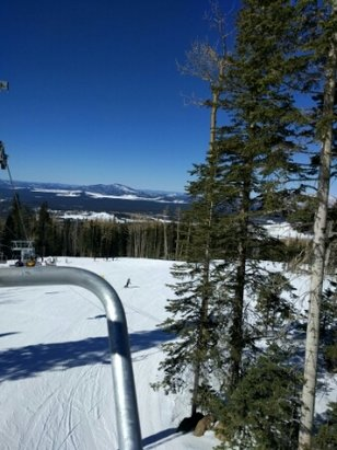 Arizona Snowbowl - No crowds and hot weather. Awesome weekend! - ©anonymous user