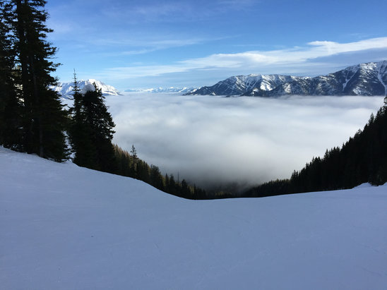 Fernie Alpine - If you are into spring skiing in February Fernie has you covered.  - ©iPhone