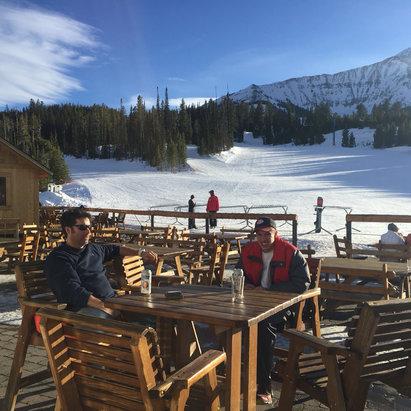 Big Sky Resort - Beautiful day at Madison Base - ©David Lendon's iPhone