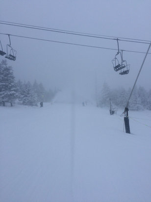 Killington Resort - The snow guns were blazing!! Conditions were pretty good!! - ©PAskier