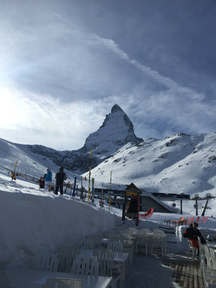 Zermatt - Firsthand Ski Report - ©KEVIN's iPhone