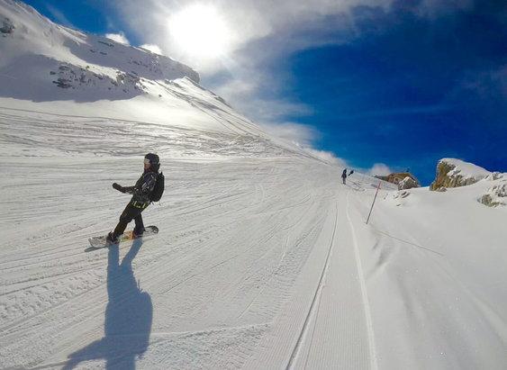 Cortina d'Ampezzo - Fantastic skiing! - ©iPhone (Antti Rajala)