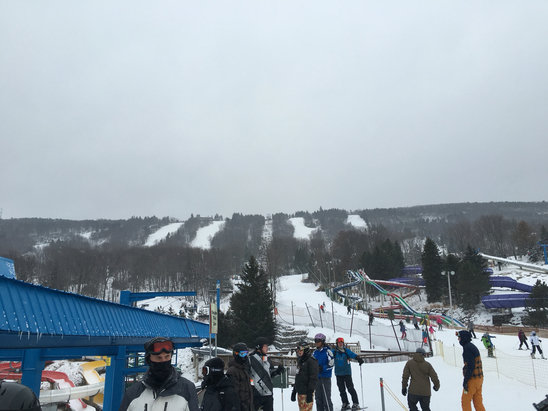 Camelback Mountain Resort - Firsthand Ski Report - ©Okshap's iPhone