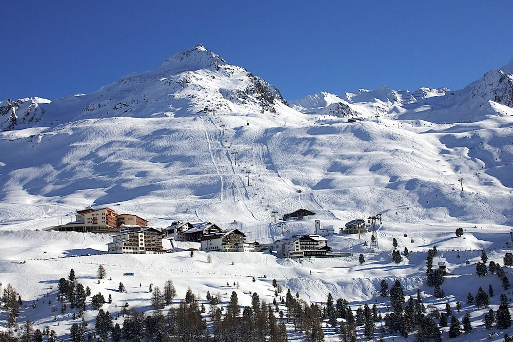 The slopes of Obergurgl-Hochgurgl. Copyright: Ötztal Tourismus.