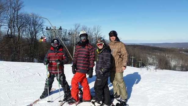 Boyne Highlands - great weekend at both mountains, single digits couldn't keep my boys and I off the slopes president's day weekend - ©jon f.