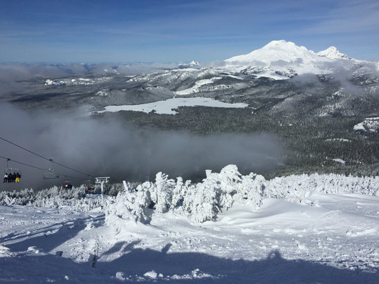 Mt. Bachelor - Perfect day for my first time at Bachelor! - ©Jose