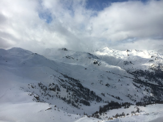 Serre Chevalier - Firsthand Ski Report - ©iPhone