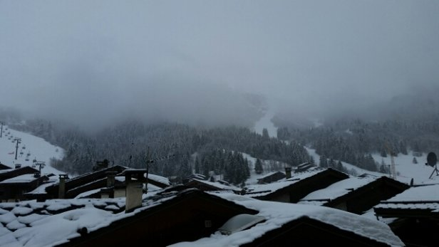 Valmorel - Snowing. Mist/Cloud. - ©gary.brooke