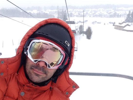 Mont Saint-Sauveur - True snow. It's perfect. Come.  - ©QC-Montréal