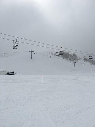 San Domenico di Varzo - Ottima neve, pochissima gente e un team ad aiutare sulle seggiovie eccezionale  - ©iCalca