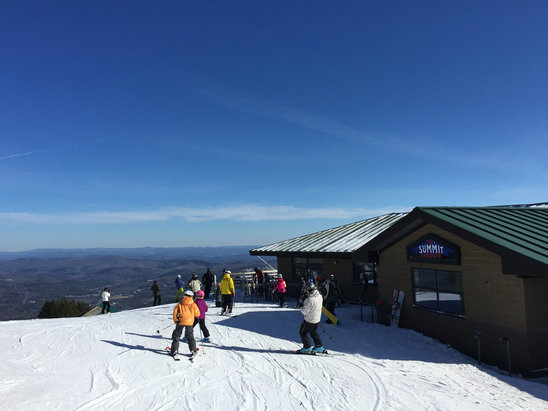 Okemo Mountain Resort - Great day just need more snow !!! - ©Rob Skudder iphone