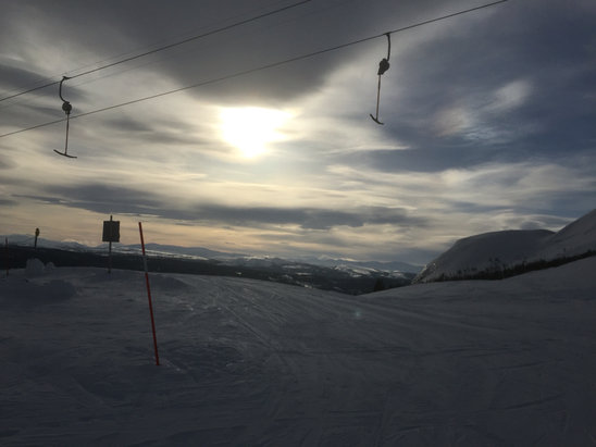 Åre - Firsthand Ski Report - ©simon's iPhone