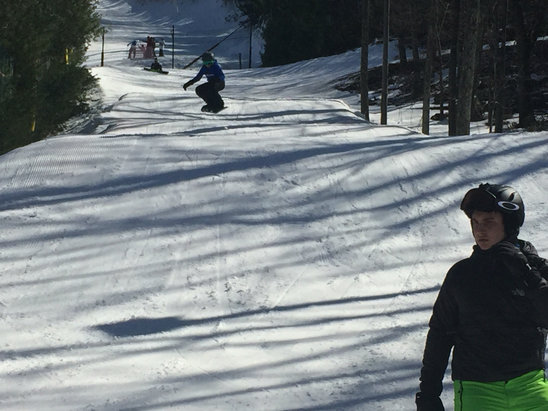 Camelback Mountain Resort - Great in morning, mushy by mid-day. - ©Super Gnome III