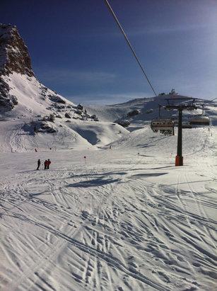 Canazei - Belvedere - Firsthand Ski Report - ©MANGUSTA PILOT
