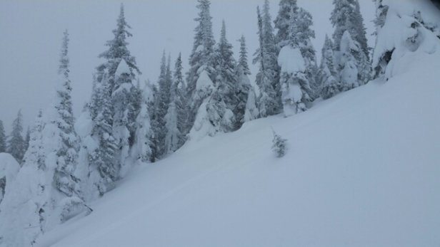 Sun Peaks - so much snow. ...so much snow. .  forget revy or kicking horse.  sun peaks is the place to be! !! - ©danstewart42