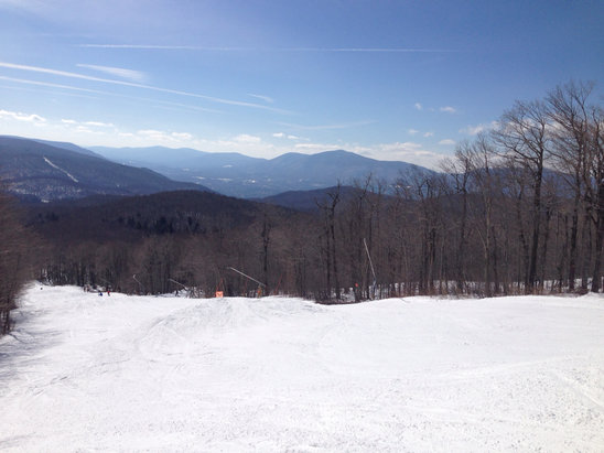 Bromley Mountain - Not bad considering... - ©Momma's iPhone